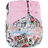BEESCLOVER Washable Reusable Printed Dipper Pants Breathable Leakproof Nappy Size Can Be Adjusted A52