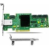 tlegend instrumento® LSI SAS HBA (9212–4i4e) adaptador de Bus de host SATA/SAS 6Gb/s PCI Express 2.0(LSI00193)