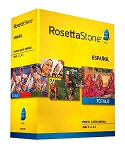 Rosetta Stone Version 4 TOTALe : Spanish (Latin America) Level 1, 2 & 3 [import anglais]