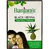 #2: Banjara's Black Henna - Aloe Vera with Henna, 50g Carton