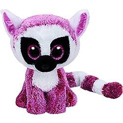 TY - Beanie Boos Leeann, lemur, 15 cm, color rosa (United Labels Ibérica 37225TY)