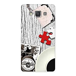 Gorgeous Vintage Style Multicolor Back Case Cover for Galaxy Grand 3