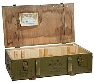 kistenkolli altes land 125d bo te militaire en bois caisse. Black Bedroom Furniture Sets. Home Design Ideas