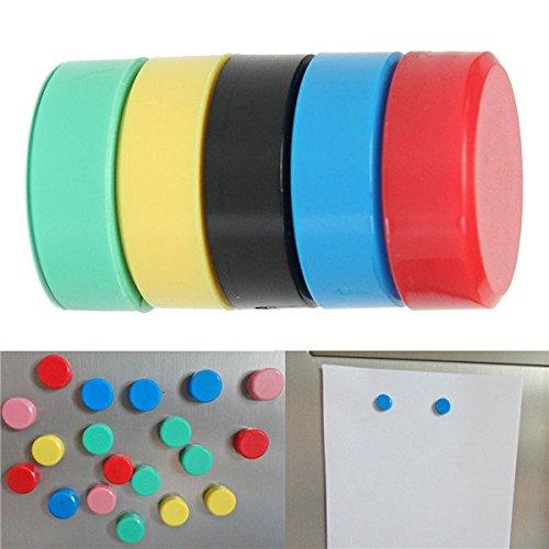 Saver 10pcs 20x7mm magneti rotonde magneti ufficio lavagna