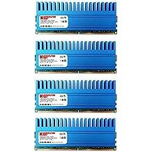 Komputerbay - Módulo de memoria  8GB (4x2GB) DDR2 DIMM (240 contactos) 1066MHz PC2-8500 KIT DE 8 GB con difusores de calor Crown para refrigeración adicional CL 5-7-7-25