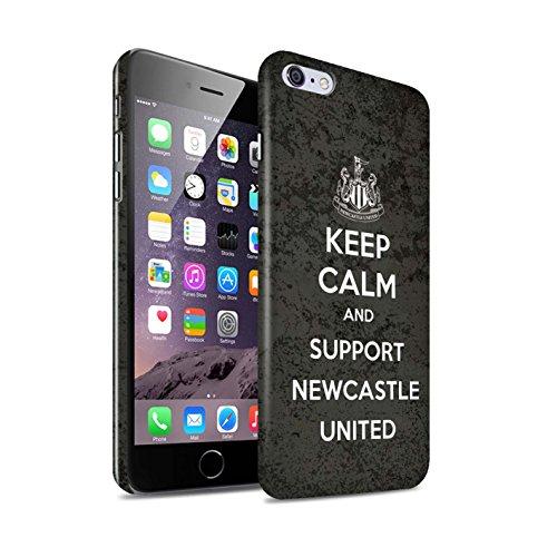 Offiziell Newcastle United FC Hülle / Glanz Snap-On Case für Apple iPhone 6S+/Plus / Howay Jungs Muster / NUFC Keep Calm Kollektion Unterstützung
