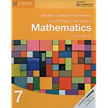 Cambridge Checkpoint Mathematics Coursebook 7 (Cambridge International Examinations)