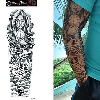 MZP Tattoo Aufkleber Andere Non Toxic Große Größe Waterproof Damen Herren Teen Flash-Tattoo Temporary Tattoos (Temporäre Tattoo-pfote)