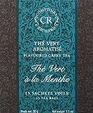 Comptoirs Richard Thé Vert Menthe 15 Sachets 30 g - Lot de 2