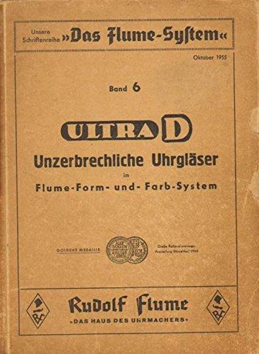 Ultra D. Unzerbrechliche Uhrgläser im Flume-Form- und Farb-System.