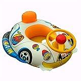 AMWFFYC Sommer Kinder Schwimmen Ring Baby Aufblasbare Schwimmhilfe Rettungsring Schwimmbad Schwimmende Kinder Polizei Auto Spielzeug