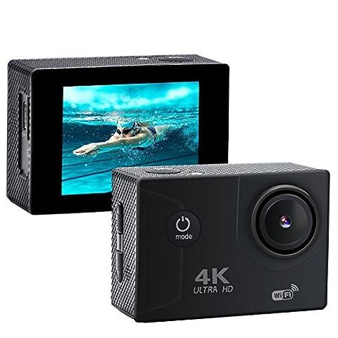xikezan 4K WIFI Action-Kamera 16MP Wasserdichte Sport und Tauch Cam