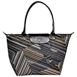 Longchamp Op'Art Shopper Tasche Khaki Größe Large Limited Edition