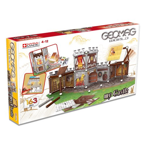 Imagen 6 de Giochi Preciosi 601050 - Geomag Castillo 163 Piezas