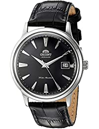 Orient Reloj Analógico para Hombre de Automático con Correa en Cuero FAC00004B0
