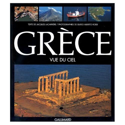 Grèce vue du ciel