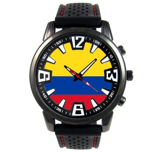 Timest sf048cc–Reloj de pulsera de hombre, correa de silicona color negro