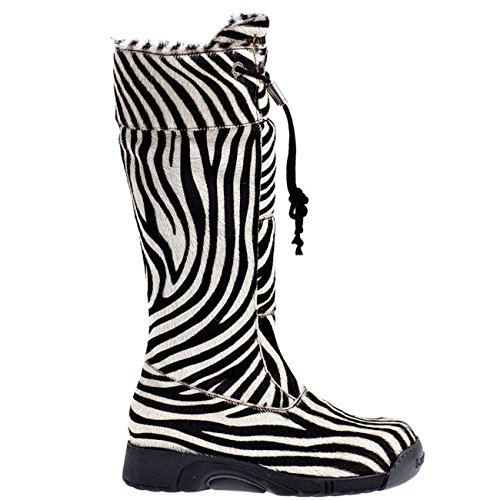 Bumper Boot Pony Zebra Bianco Long 07 (Bumper Boote)