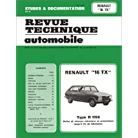 Etude et documentation de la revue technique automobile: Renault 16 TX