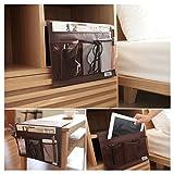 Organisateur Sacs de Rangement Lit Poches à Suspendre Stockage pour iPhone, iPad,...