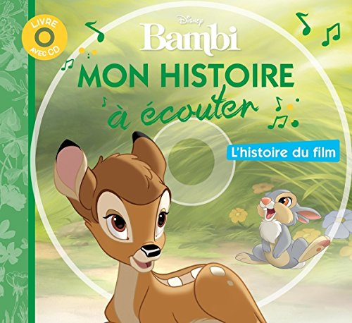 Bambi, MON PETIT LIVRE-CD