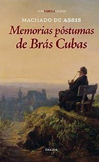 Memorias Postumas De Bras Cubas par  Joaquim Machado de Assis