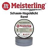 Meisterling® Schaum - Nageldicht - Band/Dichtband, 50 mm Breite x 30 m Rollen