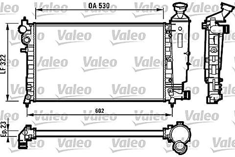 Valeo 731526 Radiateur, refroidissement du moteur