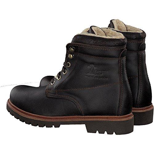Panama Jack New Aviator, Boots a fodera calda e stile biker donne marrone - marrone scuro