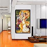 TOTAL HOME: Radha Krishna Wall Painting || Radha Krishna Photo / Paintings || Radha Krishna Gift || Radha Krishna Paintings Big Size || Radha Krishna Large Paintings || Radha Krishna Painting For Bedroom || Radha Krishna Paintings Big Size || Radha Krishn