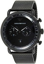 Emporio Armani Wrist Watch For Men, AR11264, Black