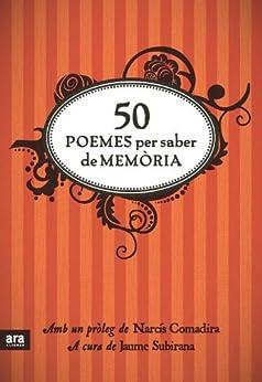 50 poemes per saber de memòria (Poesia. Ara Llibres) de [Subirana, Jaume]