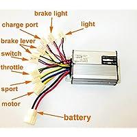 L-faster Controlador del motor del regulador del motor del cepillo de la vespa de 36V48V 1000W para el regulador cepillado Scooter del triciclo (36V1000W)