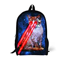 Coloranimal Universe Planets Printing Galaxy Backpack for Kids Back to School