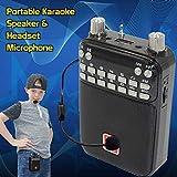 Mr Entertainer Popbox Altoparlante portatile per karaoke, amplificatore vocale e microfono auricolare Macchina per karaoke per bambini che funziona con qualsiasi smartphone, iPad o tablet.