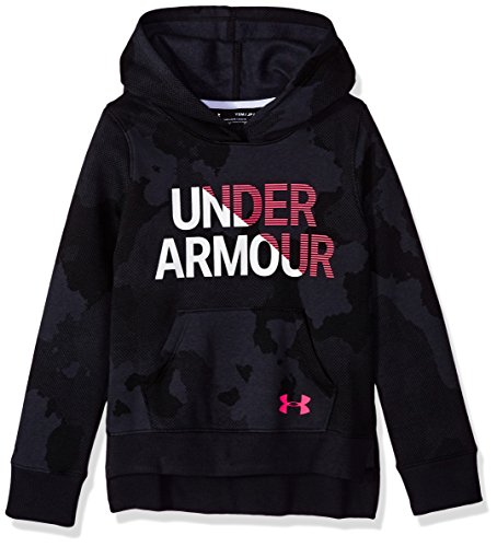 Under Armour Unisex Kids Rival Hoody Warm-up Top