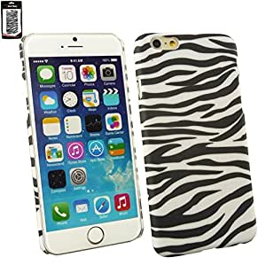 "Emartbuy® Zebra Black / White Clip On Protection Case Cover Skin For Apple iPhone 6 6G 6S 4.7 "" Inch"