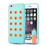 iPhone 6 Hülle, JAMMYLIZARD Witziges Smarties Silikon Rückenschutz-Cover [shockproof] für iPhone 6 / 6s 4.7