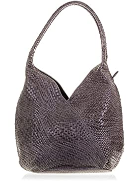 FIRENZE ARTEGIANI Ledertasche Shopper MADE IN ITALY. AUTHENTISCHE ITALIENISCHE HAUT