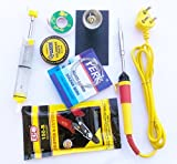 #9: pke 7 in 1 Yellow Soldering Iron Tool Kit