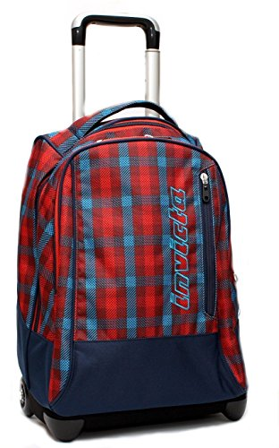 Trolley zaino invicta boy blu