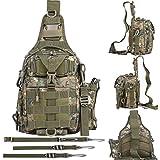 BLISSWILL Outdoor Tackle Bag Multifunktionale Wasserdichte Angeltasche Single Schultertasche...