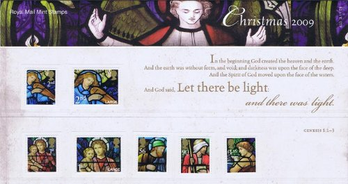 Royal Mail Mint Stamps Christmas 2009 Presentation by Royal Mail -