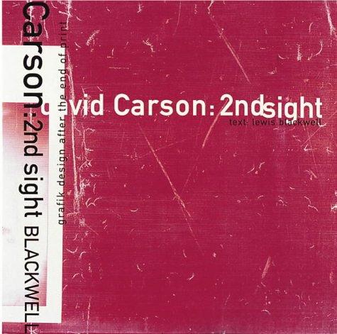 Descargar Libro Carson, David: 2ndsight: 2ndsight - Grafik Design After the End of Print de Blackwell