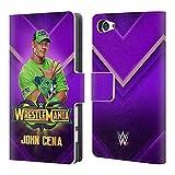 Head Case Designs Offizielle WWE John Cena Wrestlemania 34 Superstars Brieftasche Handyhülle aus Leder für Sony Xperia Z5 Compact