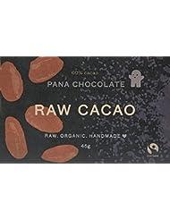 Pana Organic Raw Vegan Cacao Chocolate, 45 g