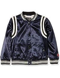 Scotch & Soda Girl's Felix AMS Blauw Collab Sporty Bomber Jacket