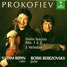 Sonates Pour Violon Et Piano N�1 Op.80, N�2 Op.94 Bis, 5 M�lodies Op.35 Bis