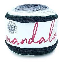 Lion Brand Yarn Company 525-221 - Filato mandala, arpa, una matassa