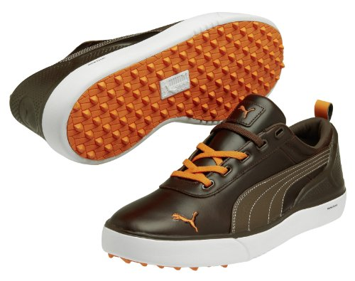 Puma Monolite chestnut-black coffee-vibrant orange Brown